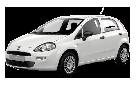 Paros car rental Fiat Grande Punto