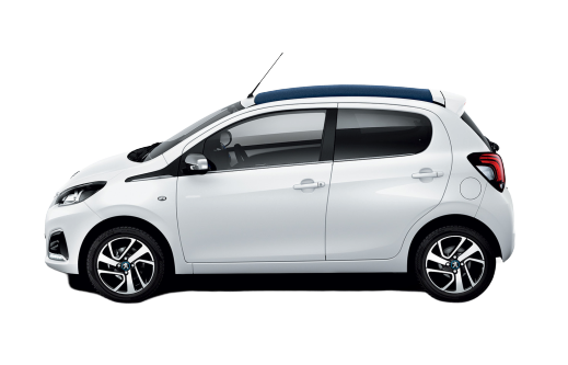 Rent a Peugeot 108 open roof automatic