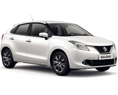 Suzuki Baleno Ενοικίαση αυτοκινήτων Νάουσα Πάρος