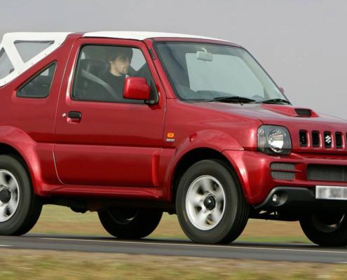 Rent a Suzuki Jimny Soft Top