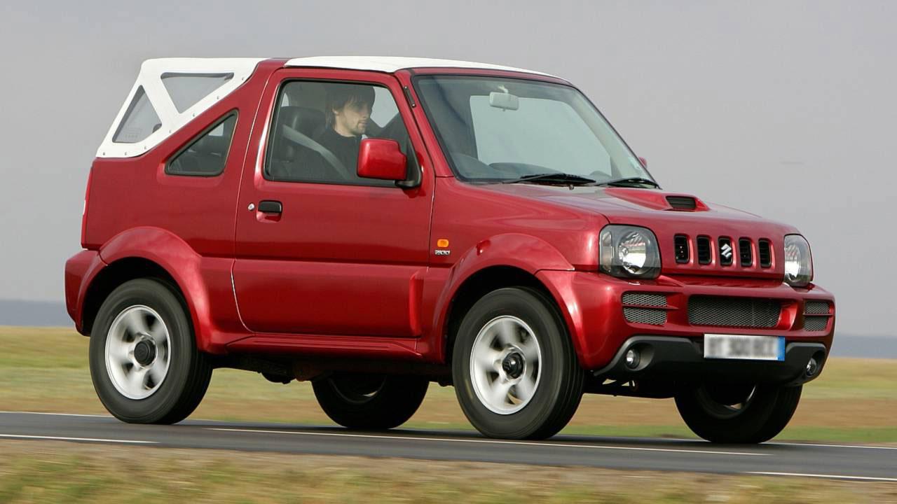 4x4 Cabrio: Suzuki Jimny or similar - Paros Rent a Car Galanakis